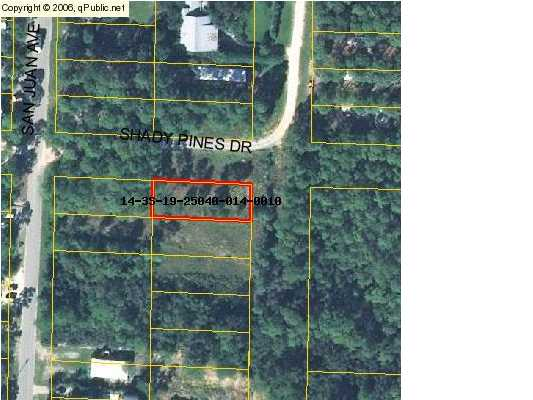 LOT 1 SHADY PINES DR, SANTA ROSA BEACH, FL 32459 (MLS # 550874)