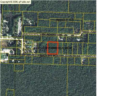 00 MALLET RD., FREEPORT, FL 32439 (MLS # 566008)