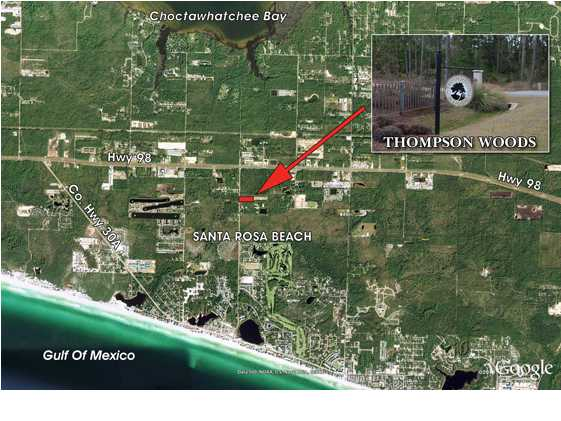 (25) LOTS THOMPSON WOODS OF SCENIC 30A, SANTA ROSA BEACH, FL 32459 (MLS # 571358)