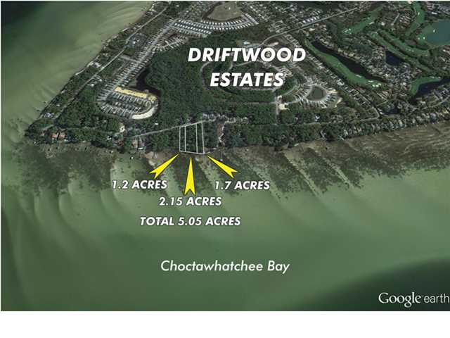 5.05 ACRES DRIFTWOOD POINT RD, SANTA ROSA BEACH, FL 32459 (MLS # 594234)
