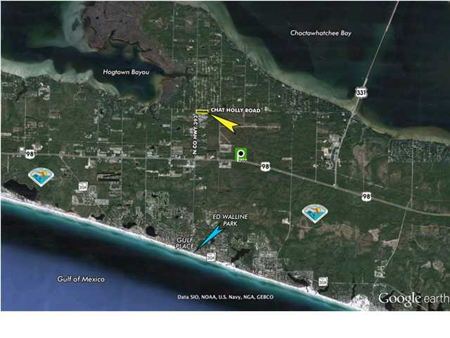 9.75 ACRES CR 393 AT CHAT HOLLY RD, SANTA ROSA BEACH, FL 32459 (MLS # 594556)