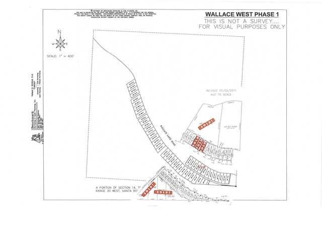 42 LOTS WALLACE LAKE RD, PACE, FL 32571 (MLS # 594961)