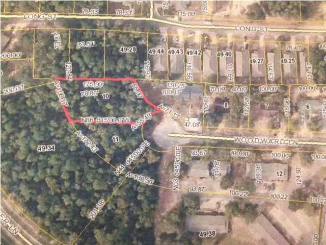 LOT 10 WOODWARD LN, MILTON, FL 32570 (MLS # 595906)