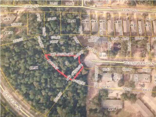 LOT 11 WOODWARD LN, MILTON, FL 32570 (MLS # 595914)