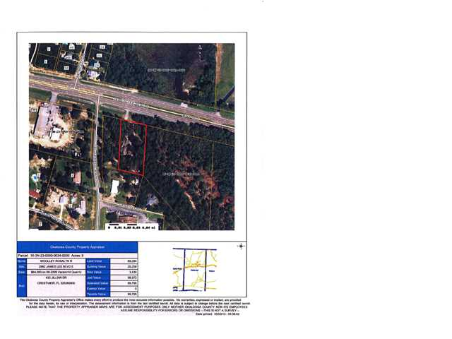 1 ACRE JAMES LEE BLVD E, CRESTVIEW, FL 32536 (MLS # 596414)