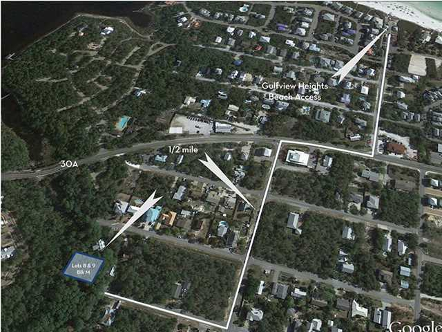 LOTS 8 &9 BRAMBLE ST, SANTA ROSA BEACH, FL 32459 (MLS # 597808)