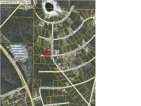 LOT 17B BRAHMS DR W, DEFUNIAK SPRINGS, FL 32433 (MLS # 605312)