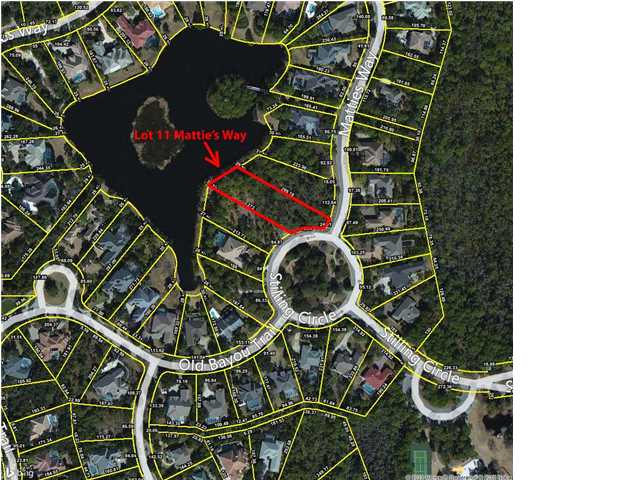LOT 11 MATTIES WAY, DESTIN, FL 32541 (MLS # 606425)