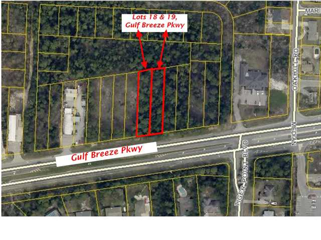 LOTS 18/19 GULF BREEZE PKWY, GULF BREEZE, FL 32563 (MLS # 608752)