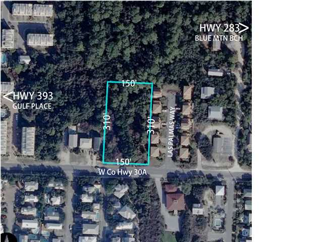 LOT 50 HWY 30-A W, SANTA ROSA BEACH, FL 32459 (MLS # 611307)