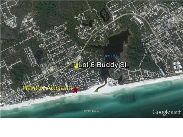 LOT 6 BUDDY ST, SANTA ROSA BEACH, FL 32459 (MLS # 612002)
